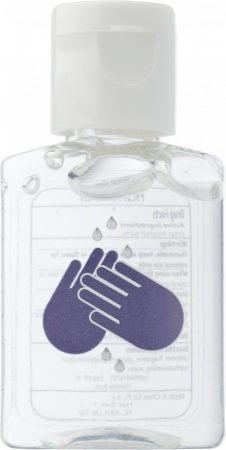 Kézfertőtlenítő gél, 15 ml, natúr