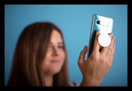 Antibakteriális mobiltelefon tartó