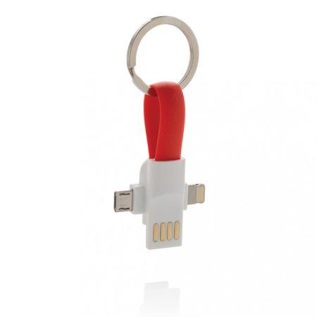 3 az 1-ben kulcstartó kábel