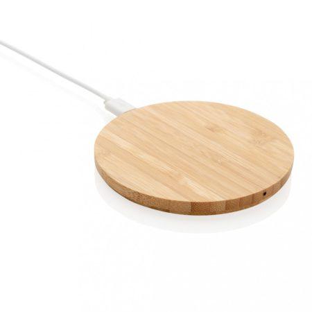 Bambusz 5W-os vezeték nélküli töltő