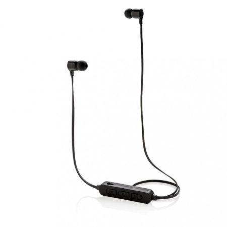 Vezeték nélküli fülhallgató világító logóval