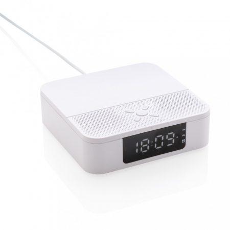 Vezeték nélküli töltős hangszóró órás kijelzővel