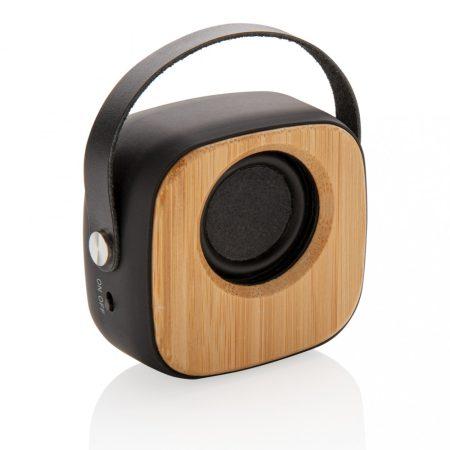 Bambusz 3W-os divatos vezeték nélküli hangszóró
