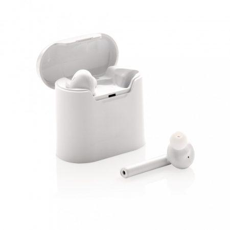 Liberty vezeték nélküli fülhallgató töltő tokban
