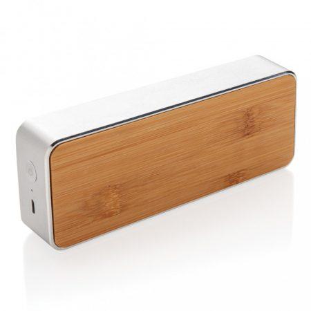 Nevada bambusz 3W-os vezeték nélküli hangszóró