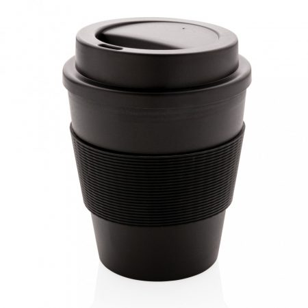 Többször használatos kávésbögre rácsavarható tetővel 350 ml