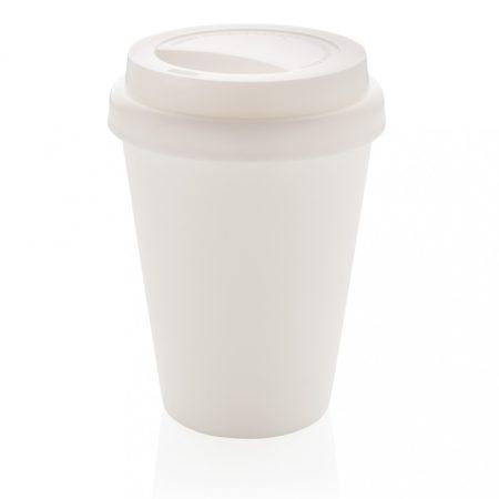 Többször használatos, duplafalú kávésbögre 300 ml
