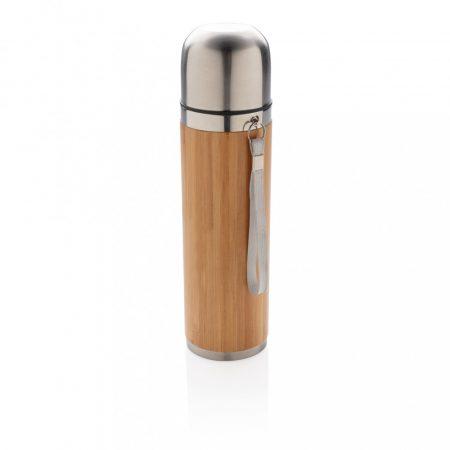 Bambusz vákuum palack utazáshoz