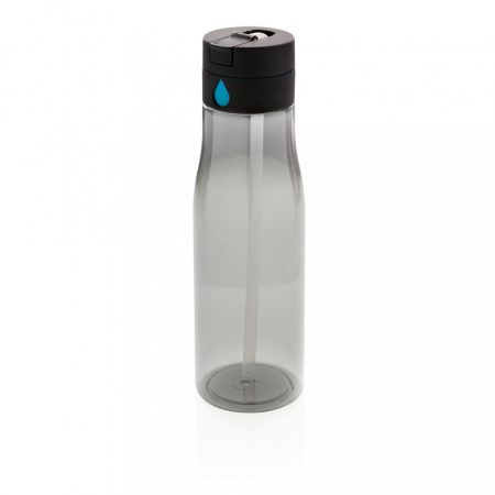 Aqua folyadékbevitel-követő palack ivószárral