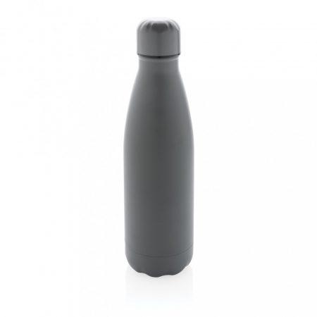 Szolid színű vákuumszigetelt palack rozsdamentes acélból