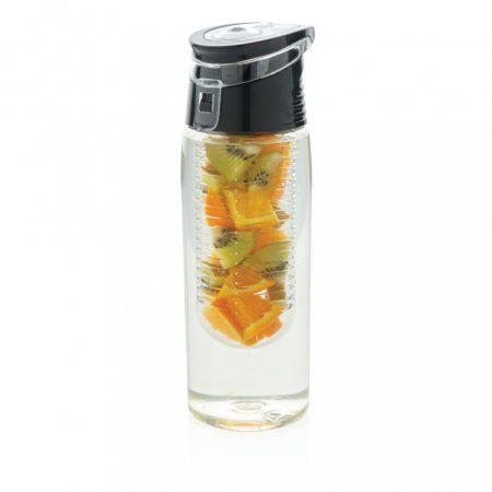 Zárható gyümölcstartós palack