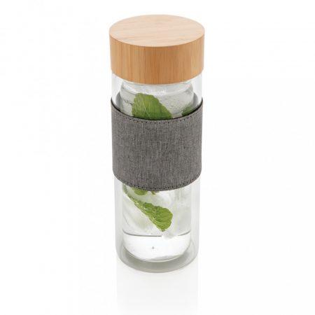 Impact duplafalú boroszilikát üveg palack