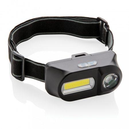 COB és LED fejlámpa