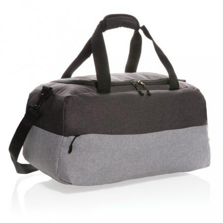 Duo color rPet RFID hétvégi táska, PVC-mentes