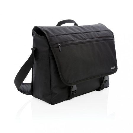 """Swiss Peak RFID 15""""-es, PVC-mentes laptop válltáska"""