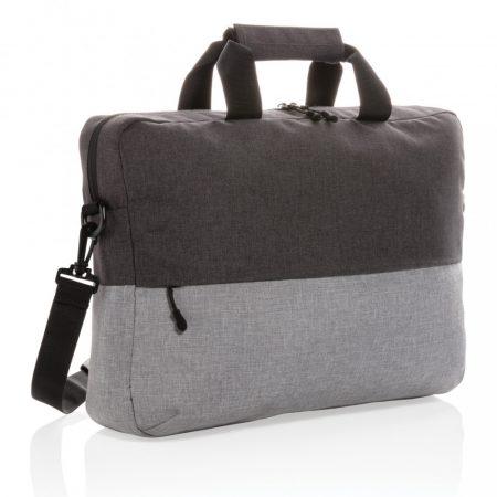 "Duo color rPet 15,6""-es RFID laptop táska, PVC-mentes"