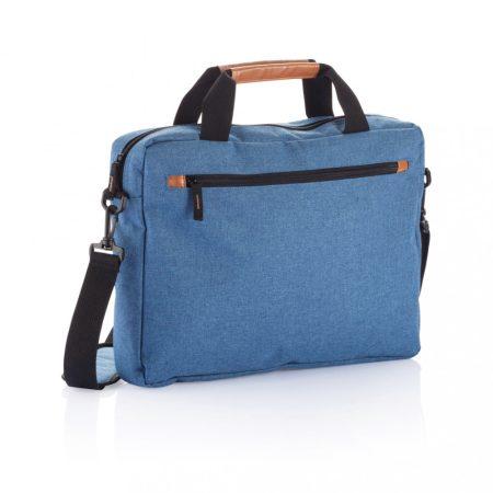 Divatos kétszínű laptop táska