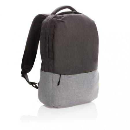 """Duo color rPet 15,6""""-es RFID laptop hátizsák, PVC-mentes"""