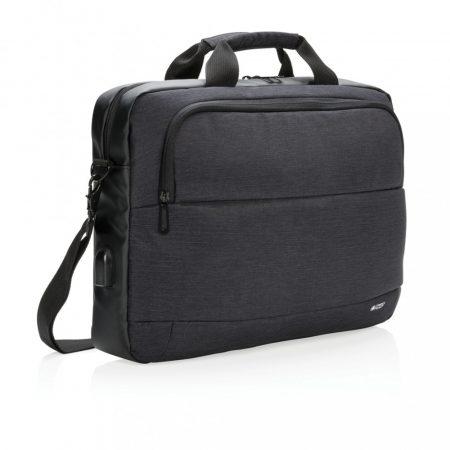 """Swiss Peak modern 15""""-os laptop táska"""