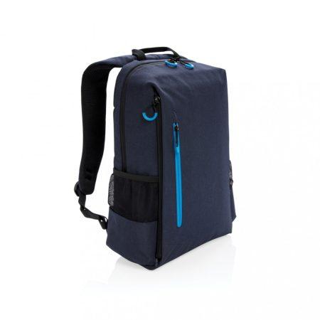 """Lima 15,6""""-es RFID & USB laptop hátizsák, PVC-mentes"""