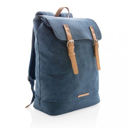 Vászon PVC-mentes laptop hátizsák