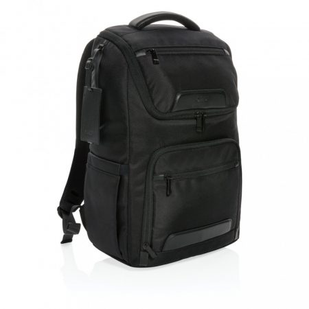 """Swiss Peak rPet Voyager USB & RFID 15"""" laptop hátizsák"""