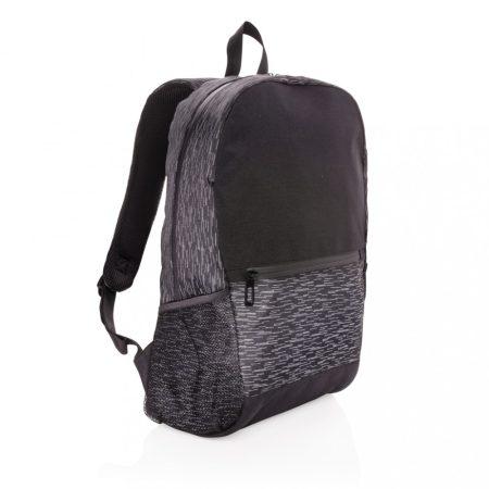 RPET fényvisszaverő laptop hátizsák AWARE™ nyomjelzővel