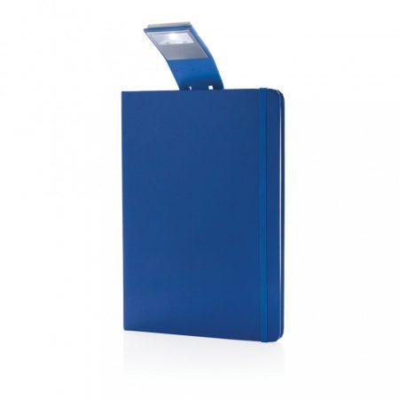 A5-ös jegyzetfüzet LED könyvjelzővel