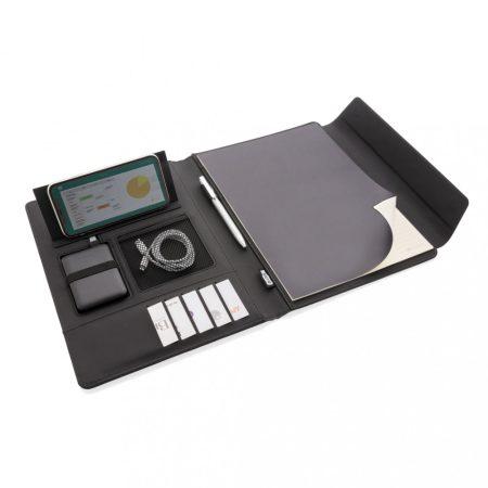 Fiko vezeték nélküli töltős A4-es mappa powerbankkel