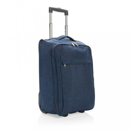 Két tónusú összecsukható bőrönd