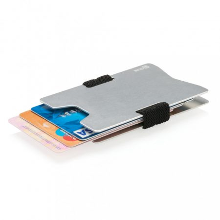 Alumínium RFID pénztárca