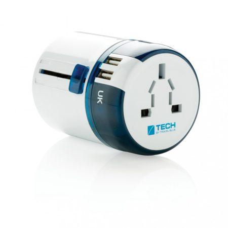 Travel Blue világutazó adapter USB csatlakozóval