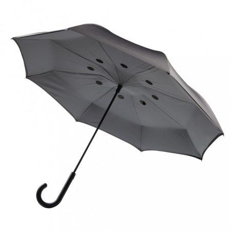 """Kifordítható 23""""-es félautomata esernyő"""