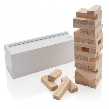 Deluxe fa torony ügyességi játék