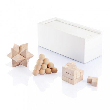 Fa fejtörő - 3 db-os